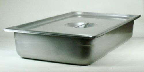 """Stainless Steel Tray, 20 3/8"""" X 12 3/4"""" X 4"""", with Lid - Polar Ware  E20124"""