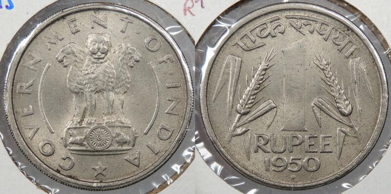 INDIA: 1950 (b) Rupee #WC77470