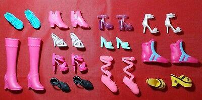 Barbie Fashionistas &   Barbie Pairs Boots Shoes Dolls Accessories Bundle