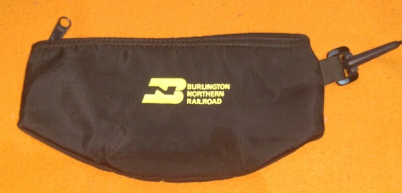 Burlington Northern Railroad Lincoln Div. Committed To Safety Belt Fanny Pack