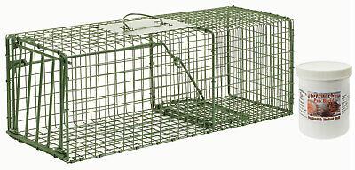 - Duke HD Model 1109 Standard Single Door Cage Trap Value Package - 26