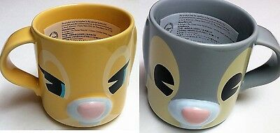 Bambi Ears (Disney Store Thumper & Miss Bunny Dimensional 3D Mug Bambi  Ears 12 oz NEW)