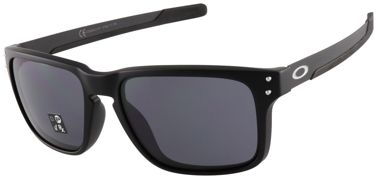 Oakley Holbrook Mix Sunglasses OO9384-0157 Matte Black   Grey Lens   BNIB 87fbefec1b