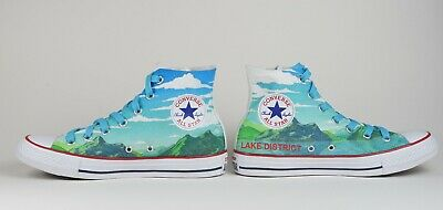 Personalized Chuck Taylors (Converse Unisex Chuck Taylor Classic Size 10 Personalised - Lake)