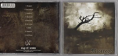 MISTRESS - MISTRESS CD 2002 METAL ROCK ENGLAND  - Mistress Metal