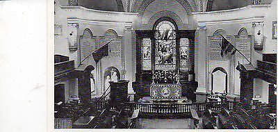 Postcard  Canada Choir & Chancel of Anglican Cathedral Holy Trinity Quebec