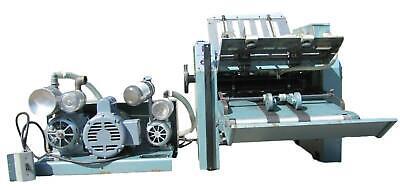 Baumfolder 714 Tabletop Paper Folder Folding Machine 14x20 With Vacuum Pump