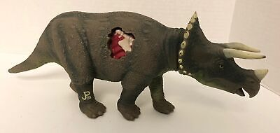 1993 Kenner Jurassic Park TRICERATOPS Wounded Action Figure Ramming Head JP08