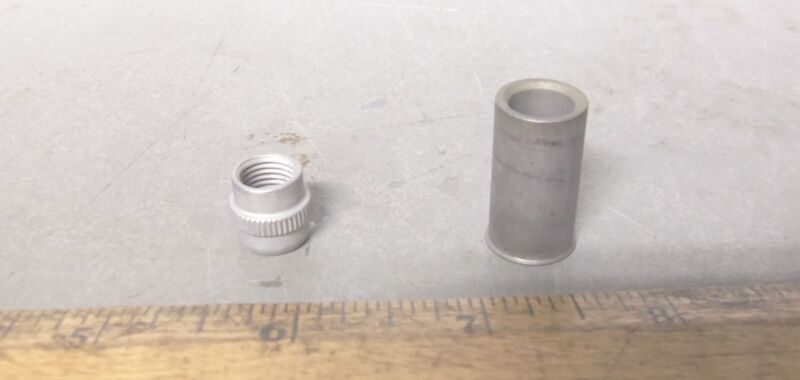 Lot of 3 - HI-Shear Corporation - Nut Assembly's - P/N: BN360 624 7 (NOS)