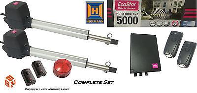 Hörmann EcoStar Portronic D5000 Drehtorantrieb SK 2-flügelig. - Flügeltorantrieb