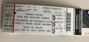Two tickets  for the Rolling Stones Concert