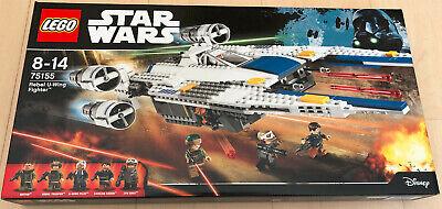 LEGO Star Wars Rebel U-wing Fighter - 75155 - Rare Brand New Sealed Set