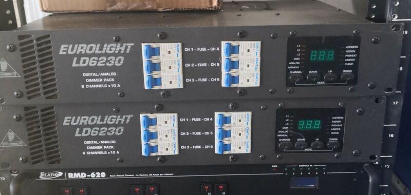 Dimmer 6ch Eurolight LD6230