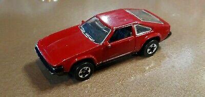 VIntage 1982 HOT WHEELS '82 TOYOTA SUPRA DARK RED with Black Chrome Hubs L👀K!