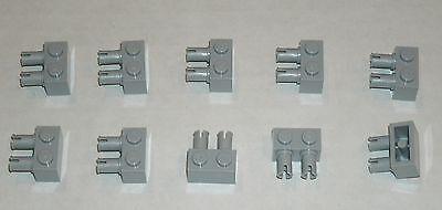 LEGO NEW 1x2 Dark Stone Grey Beam Axle Hole Pin Hole 6006141 Brick 74695 10x