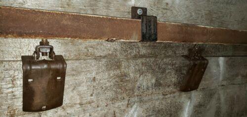 Antique Barn Door Hardware Rollers and 8