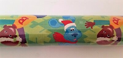Blue's Clues Christmas Gift Wrap Roll Dora Little Bill Holiday Wrapping Paper  ()