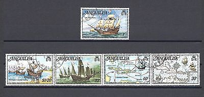 ANGUILLA 1973 SG 159/63 USED Cat £6