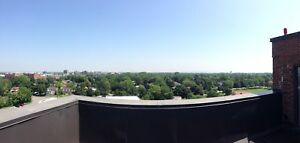 2 bdrm PENTHOUSE WITH ROOFTOP TERRACE in WEST ISLAND MONTREAL