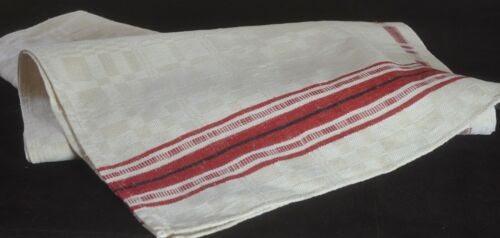 PRIMITIVE Hand Woven Linen Extra Long Striped TOWEL VV114