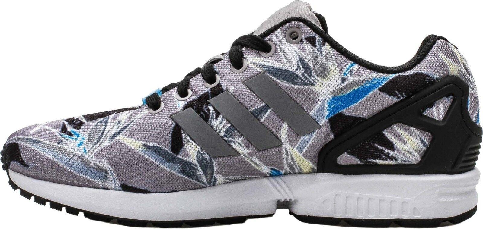 Adidas Original Men's ZX FLUX Shoes NEW AUTHENTIC Light Onyx/White/Floral B34519 1