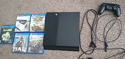 Ps4 1tb with games and controller