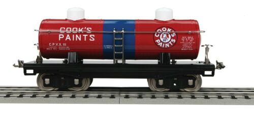 + Lionel MTH Standard Gauge #215 2-Dome Oil Car - Cook