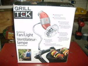BARBECUE LIGHT WITH FAN,