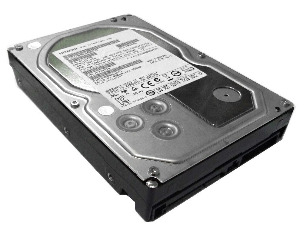 """Hitachi Ultrastar 2TB 64MB 7200RPM 3.5""""  SATA 6.0Gb/s Hard D"""