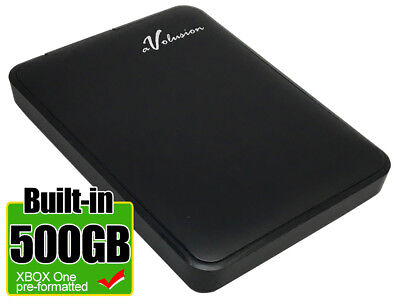 Avolusion 500GB USB 3.0  (XBOX One Pre-Formatted) External XBOX One Hard Drive