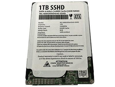 """1tb 64mb Cache + 8gb Nand Sata 6.0gb/s 2.5"""" Sshd (ultra-f..."""