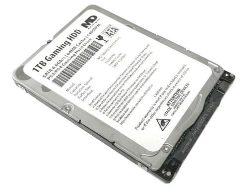 """MaxDigital 1TB 5400RPM SATA 3Gb/s PS4 2.5"""" Hard Drive (PS3,PS4,PS4 Slim,PS4 Pro)"""