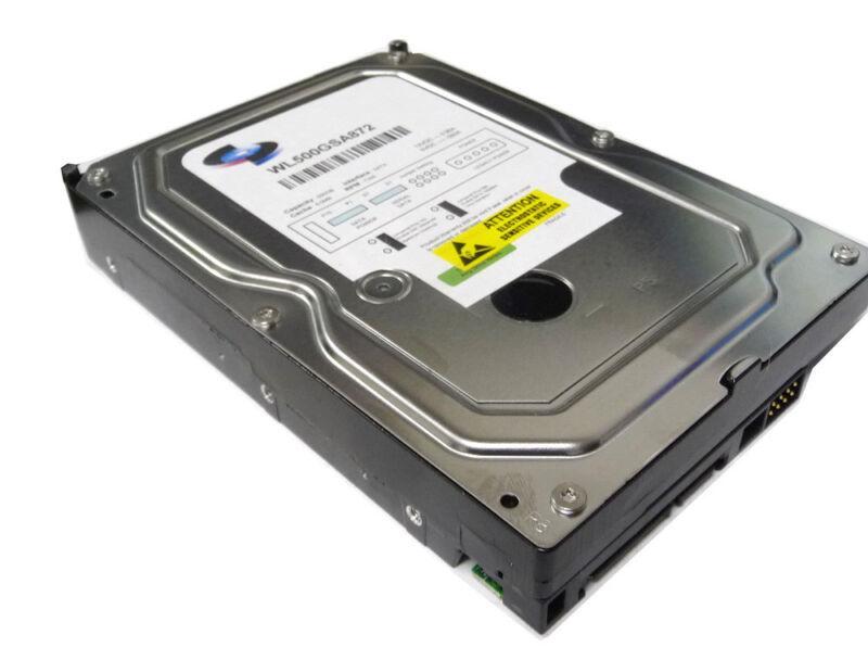 """WL 500GB 8MB Cache SATA 3Gb/s 3.5"""" Desktop Hard Drive for CCTV DVR, Desktop PC"""
