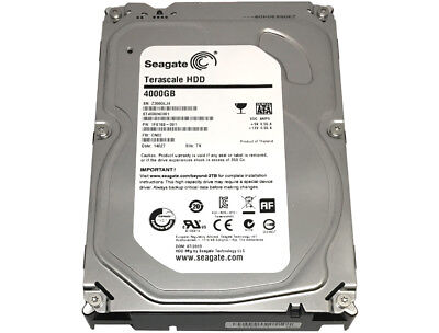 """Seagate ST4000NC001 4TB SATA 6Gb/s 64MB Cache 3.5"""" Internal Desktop Hard Drive"""