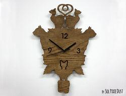 Cats Modern Cuckoo clock - Wooden Wall Clock