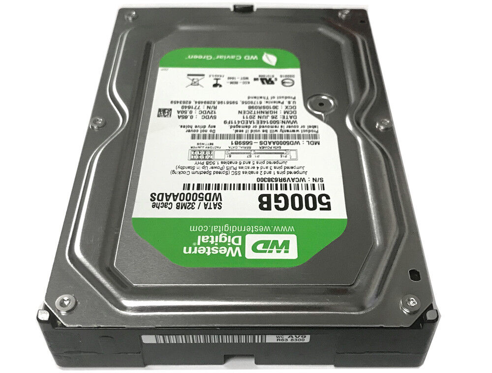 Купить WD (WD5000AADS) 500GB 32MB Cache 3.5