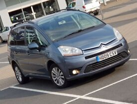 *LUXURY 7 SEATER* Citroen Grand C4 Picasso 1.6 HDi VTR+ IMMACULATE vw touran, ford Galaxy mazda 5