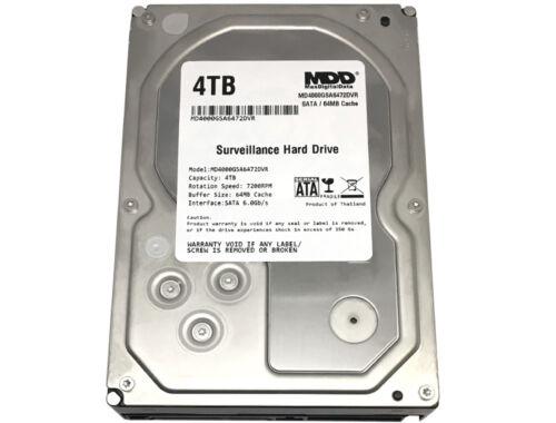 """MaxDigitalData 4TB 7200RPM 64MB Cache SATA 6.0Gb/s 3.5"""" Surveillance Hard Drive"""