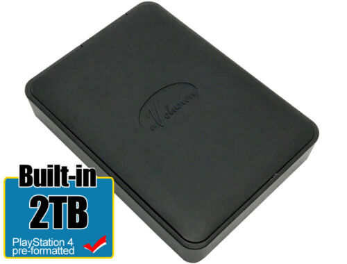 Avolusion 2TB (HD250U3-X1) USB 3.0 Portable External Hard Drive PS4 Pre-Formated