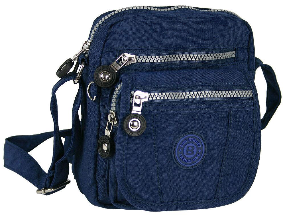 Kleine Schultertasche / Umhängetasche Handtasche praktische Aufteilung / Nylon