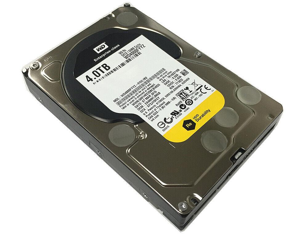 Western Digital RE WD4000FYYZ 4TB 7200 RPM 64MB Cache SATA 6