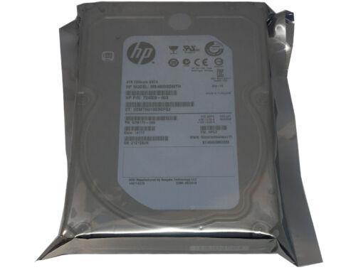 """HP/Seagate ST4000NM0033 (MB4000GDMTH) 4TB 7200RPM SATA 6.0Gb/s 3.5"""" Hard Drive"""