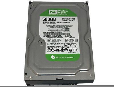 Western Digital (WD5000AACS) 500GB 16MB Cache SATA 3Gb/s 3.5
