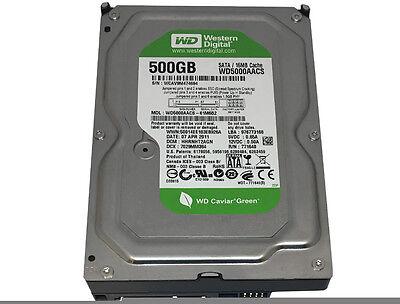 """Western Digital (WD5000AACS) 500GB 16MB Cache SATA 3Gb/s 3.5"""" Desktop Hard Drive"""