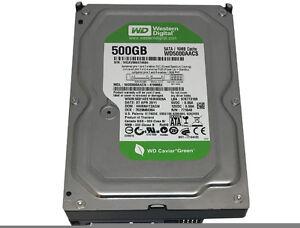 Western Digital (WD5000AACS) 500GB 16MB Cache SATA 3Gb/s 3.5