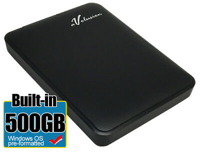 Avolusion 500GB USB 3.0 External Slim Pocket Hard Drive - Windows OS PC / Laptop