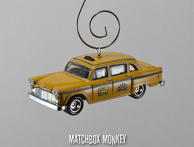 Sunshine Taxi Company TV Show NYC New York City Custom Christmas Ornament 1/64