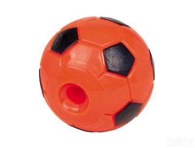 Nobby TPR Snack- Fußball orange 12,5cm