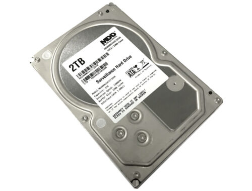 "MDD 2TB 7200RPM SATA 3.5"" Surveillance Hard Drive -CCTV DVR, Security System"