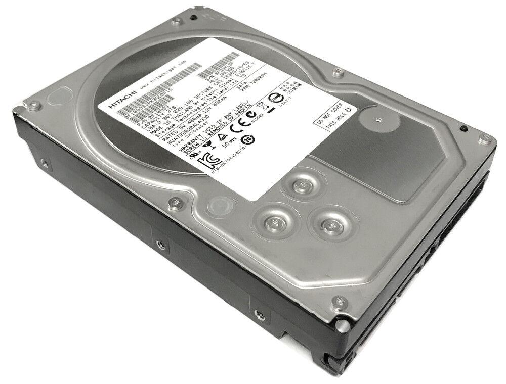"Hitachi 2TB 32MB Cache 7200RPM SATA2 3.5"" Hard Drive - PC, RAID, NAS, CCTV DVR"